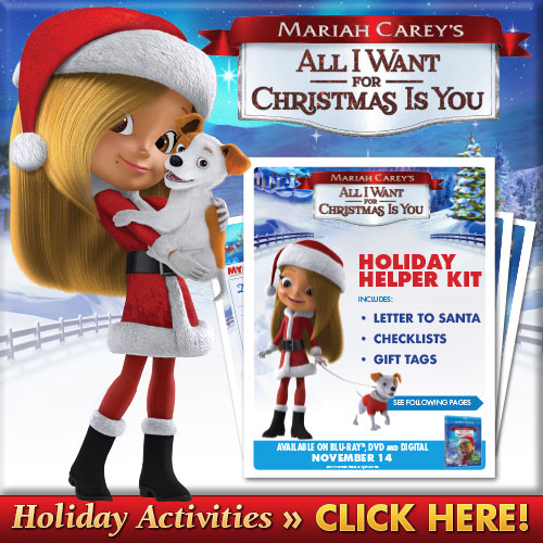 Download Mariah Carey's All I Want For Christmas Is You Holiday Helper Kit
